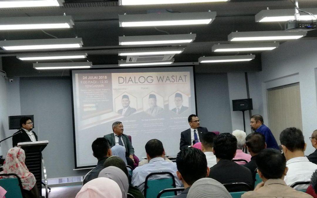 Forum Dialog Wasiat – Bolehkah Wasiat kepada Waris?