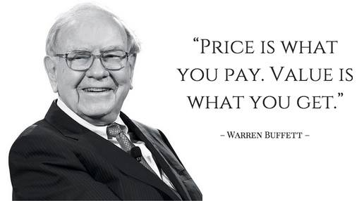 value what you get